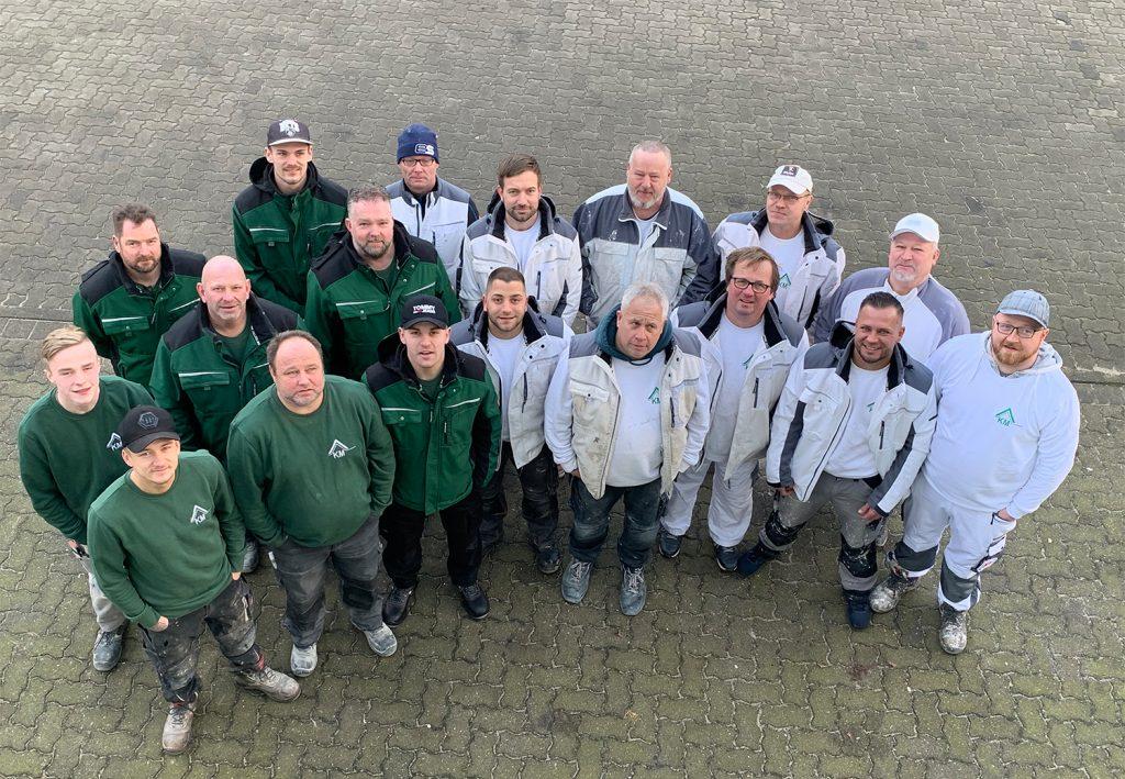 Bauunternehmen Klaus Matthiesen Team