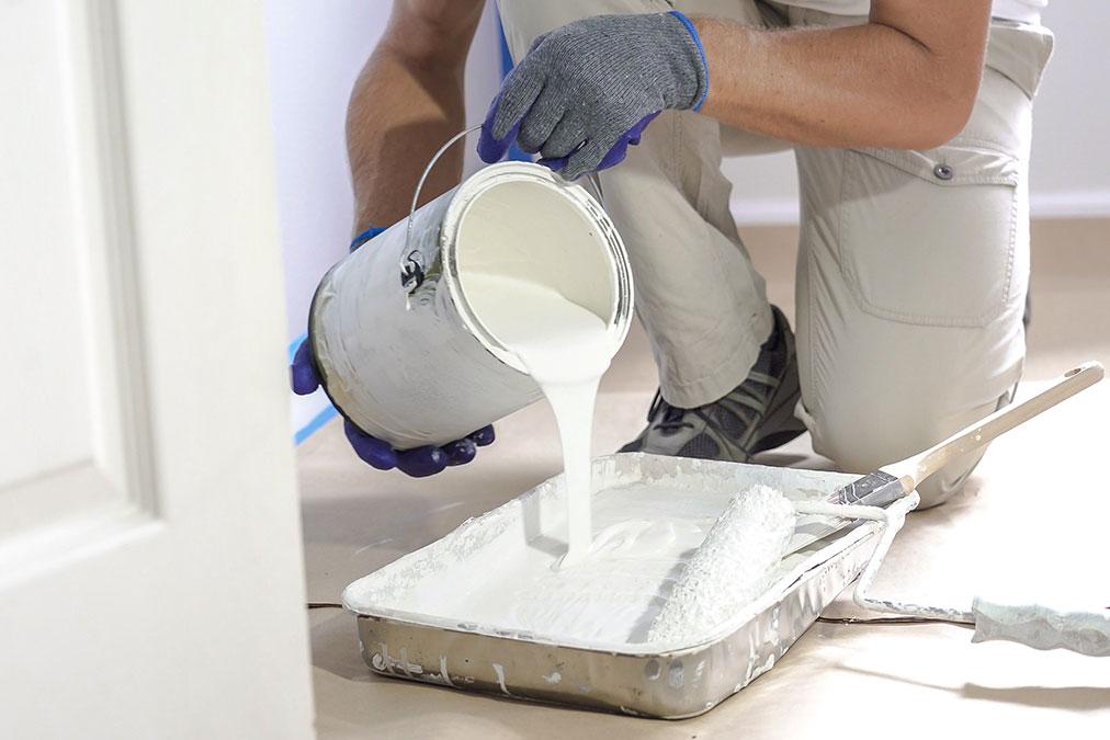 Malerarbeiten außen und innen Bauunternehmen
