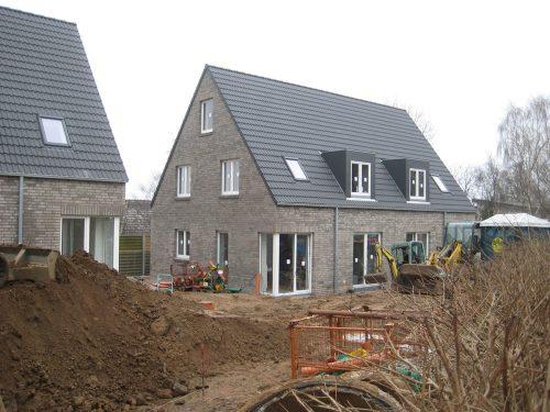 Hausbau grauer Klinker Flensburg